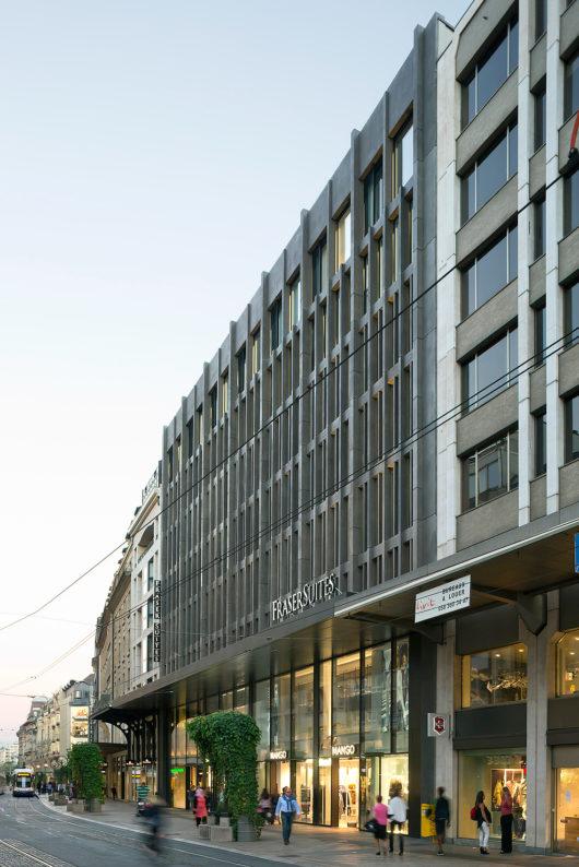 Charles pictet architectes gen ve suisse forum d 39 architecture fribourg - Bureau architecte geneve ...